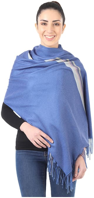 MUFFLY Women Wool Stoles - Multi