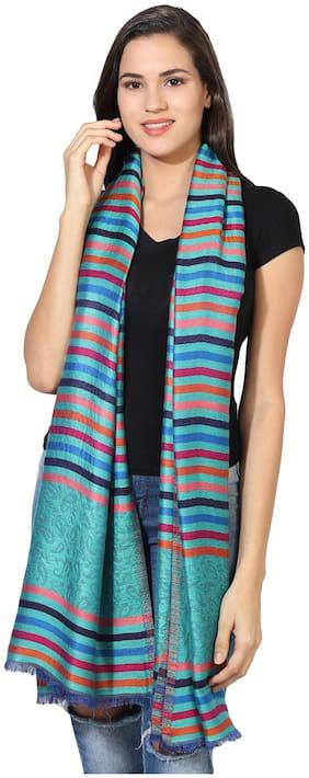 Women Silk Striped