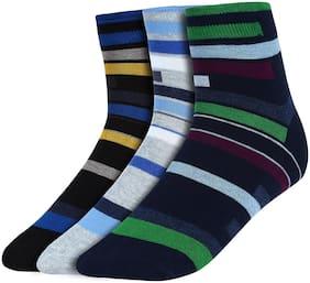 Men Crew Length Socks Pack of 3 ( Green )