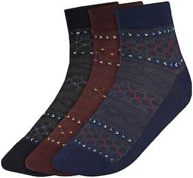 Men Crew Length Socks Pack of 3 ( Multi )