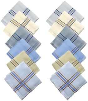 Men Handkerchiefs Pack of 12 ( Multi )