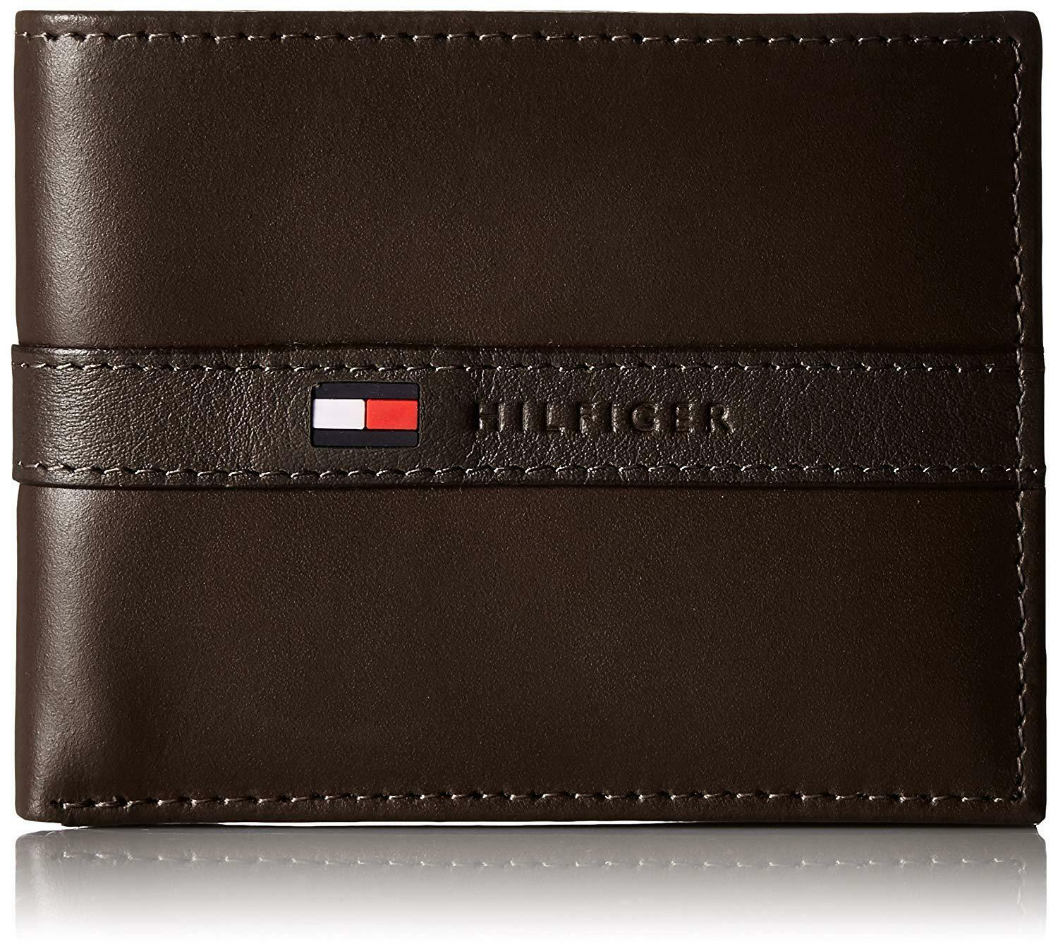 Buy New Tommy Hilfiger Men's Ranger Leather Passcase Bifold Wallet Brown Online at Low Prices in India - Paytmmall.com