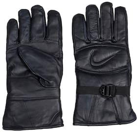 Brexit Men Leather Glove - Black