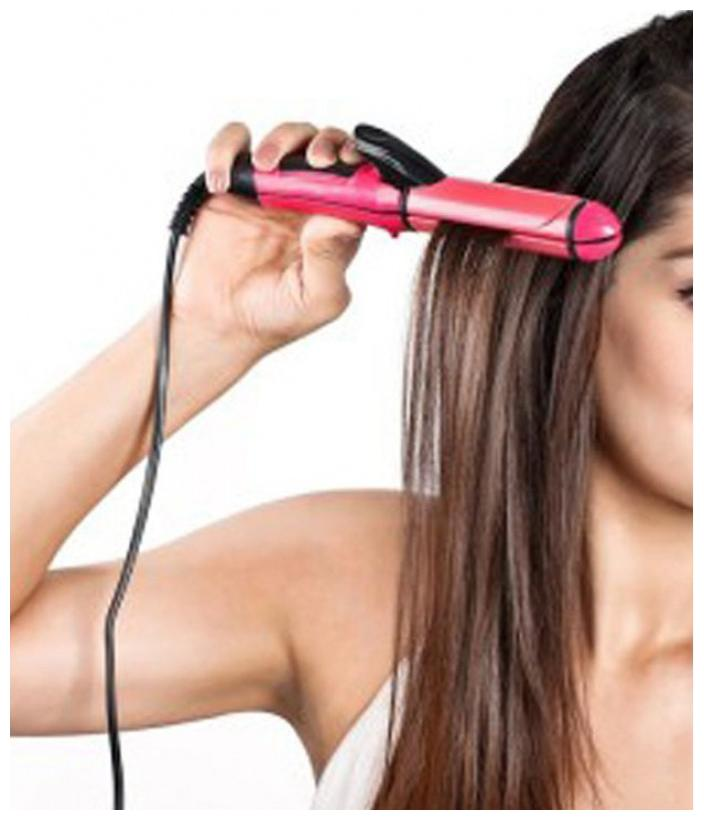 Nova NHC 2009 Hair Straightener For Man/Women  Pink  by S J Enterprises