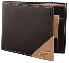 Oaks Wood Leather Wallet