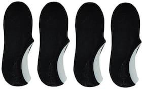 Men Ankle Length Socks Pack of 4 ( Black )