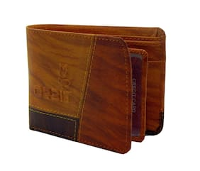 Orbit Men Multi Synthetic leather Tri Fold Wallet ( Pack of 1 )