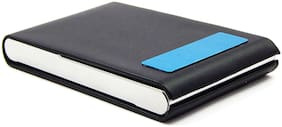 Orbit Men Faux leather Card holder - Black , Pack of 1