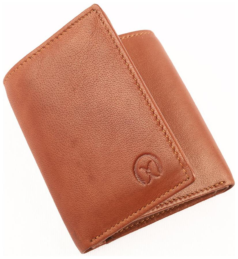 Ox Rodeo Men tan Casual Genuine leather Wallet by Global Leathers