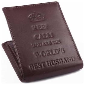 Ox Rodeo Men brown Genuine Leather Wallet
