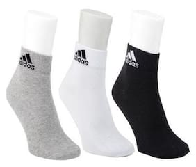 Pack of 3 Men's Cotton Socks (Assorted color and design )