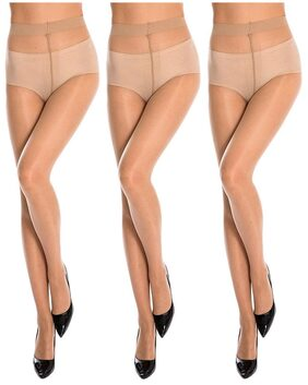 Women's Free sIZE Pantyhose Stocking-Skin Color