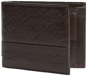 Park Avenue Men Brown Leather Bi-Fold Wallet ( Pack of 1 )