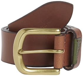 Park Avenue Solid Leather Belt