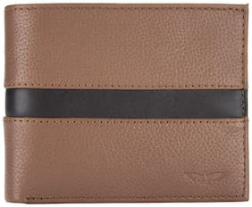 Park Avenue Men Brown Leather Bi-Fold Wallet ( Pack of 1 )