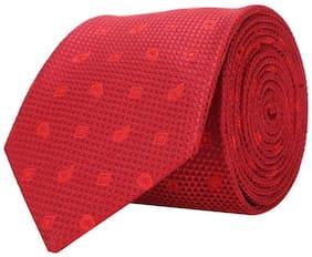 Peter England Red Tie