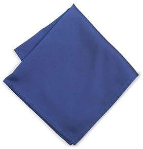 Peter England Blue Pocket Square
