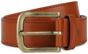 Peter England Brown Belt