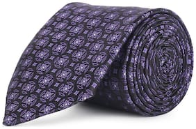 Peter England Purple Tie