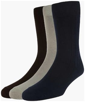 Peter England Multicolor Socks (Pack Of 3)