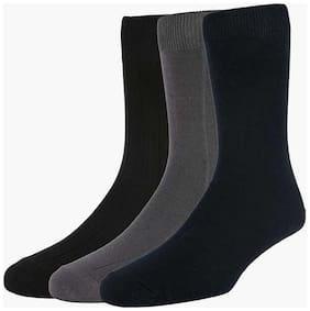 Peter England Multicolor Socks (Pack Of 3)