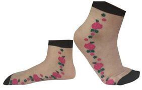 PIGGIOTO  Women's ankle length Socks 01