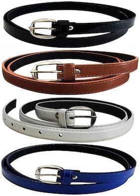 Women Leather Belts ( Multicolor )