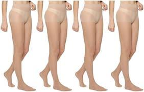PinKit Fiber Excellent Stretch Sheer Tights Long comfort Super Soft Women Stockings