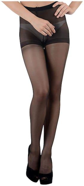 Women Stockings Pack of 1 ( Black )