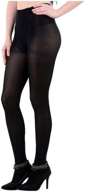 Women Thigh High Socks Pack of 1 ( Black )