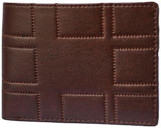 pocket bazar  Men Tan Artificial Leather Wallet  (3 Card Slots)