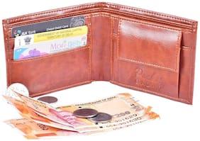 pocket bazar Men Tan Pu Bi-Fold Wallet ( Pack of 1 )