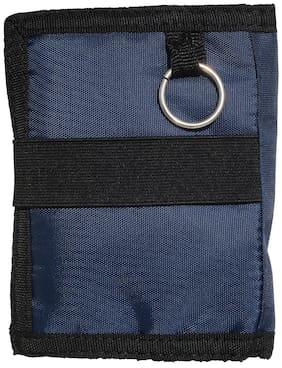 pocket bazar  Men Blue Fabric Wallet  (7 Card Slots)