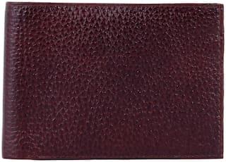 pocket bazar Men Brown Genuine Leather Wallet  (7 Card Slots)