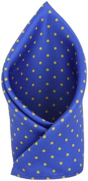 Alvaro Castagnino Cotton Pocket Square - Blue