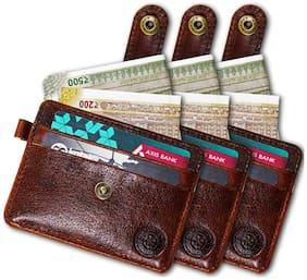 POLLSTAR Women Brown Leather Wallet