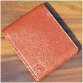 Men Leather Bi-Fold Wallet