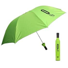 Marketwala Unisex Nylon Assorted Umbrella ( 3 fold , Pack of 1 )