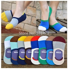 Premium Quality Loafer No Show Socks-ASSORTED (2 PAIRS)
