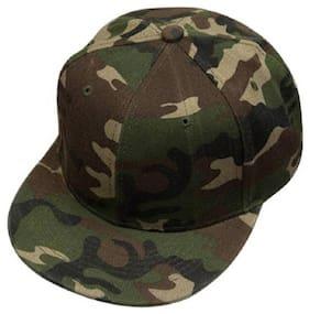 Printed Military Design HipHop Cap