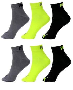 Men Ankle Length Socks Pack of 6 ( Multi )