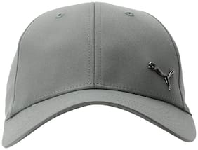 Puma Men's Metal Cat Castor Grey Cap
