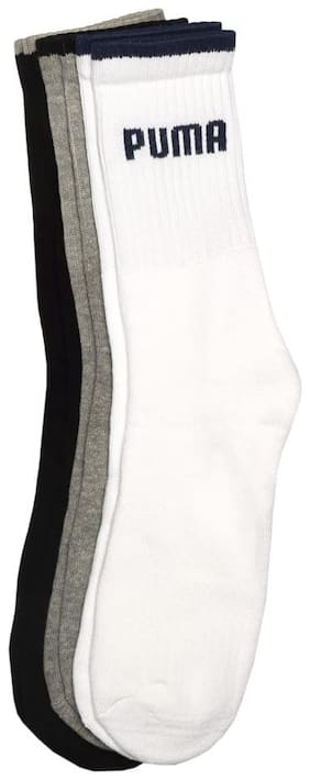 Puma Multi Cotton Ankle length socks ( Pack of 3 )