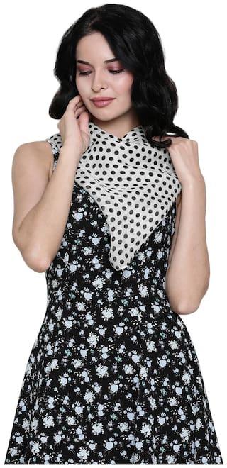 Linen Club Women Linen Stoles - Black