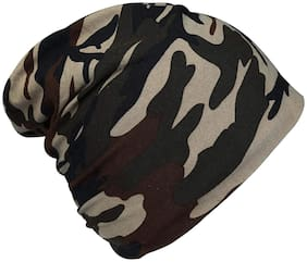 QUXXA Long Beanie Winter Wool Warmer Cap Thick & Stretchable for Men