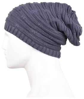 QUXXA Long Beanie Winter Wool Warmer Thick & Stretchable for Men