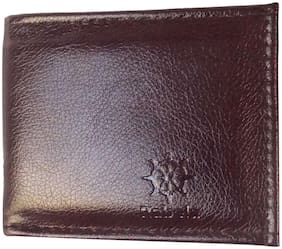 Rabela Men Brown Pu Bi-Fold Wallet ( Pack of 1 )