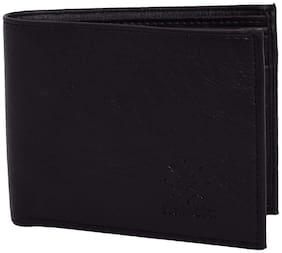 Rabela Men's Black Wallet RW-702