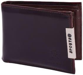 Rabela Men's Black Wallet RW-701