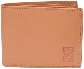 Red Chief Men Rust Leather Bi-Fold Wallet ( Pack of 1 )